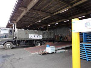 東日本大震災における宮城県物流拠点倉庫2