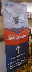 カンファレンスの看板