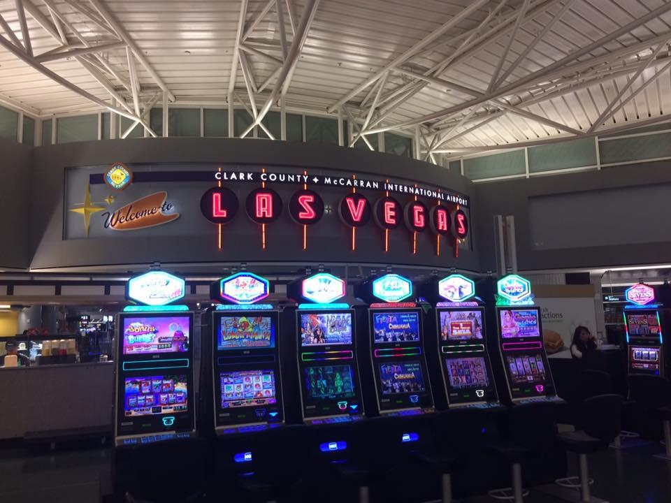 ラスベガス空港の様子