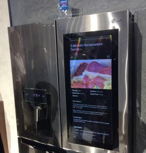 LGのアレクサ対応冷蔵庫
