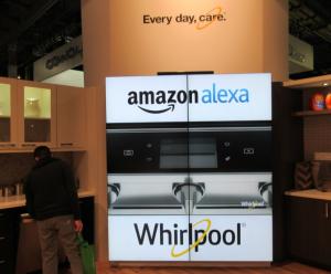 ワールプール社のアレクサ対応キッチン器具