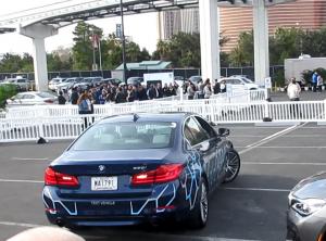 BMWの試乗デモ