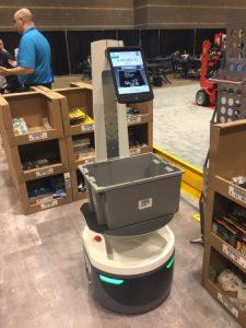 Locus Robotics社のLocusBOT