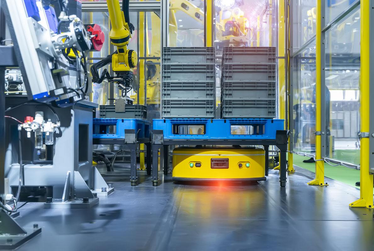 物流ロボット発展の四段階